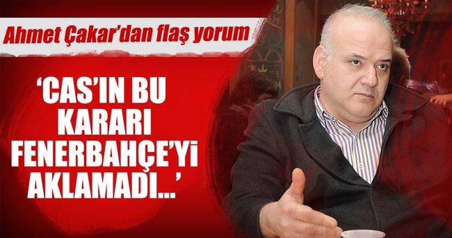 Ahmet Çakar: Fenerbahçe daha aklanmadı ki