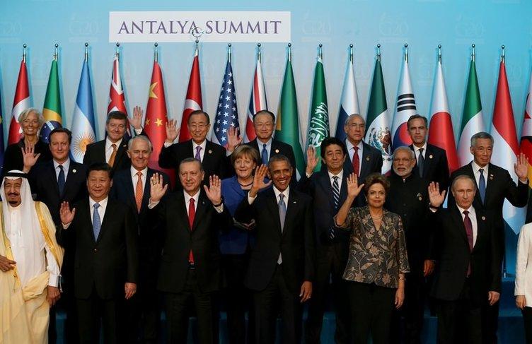 İşte G-20 Zirvesi'nden kareler!