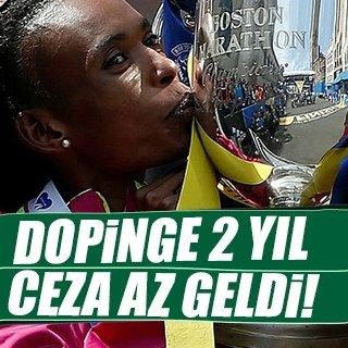 Dopingci maratoncunun cezası artırıldı