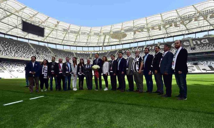 Vodafone Arena kapılarını SABAH'a açtı