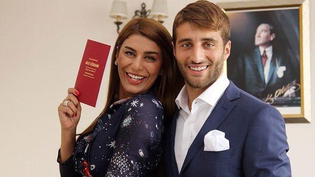 Ebru Şancı ile Alpaslan Öztürk Eskişehir'de evlendi