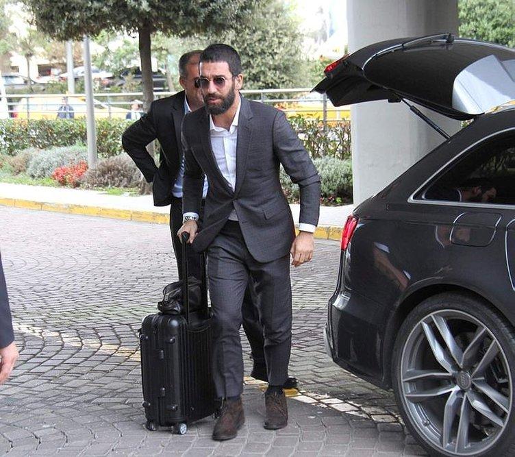A Milli Takım Antalya'ya gitti