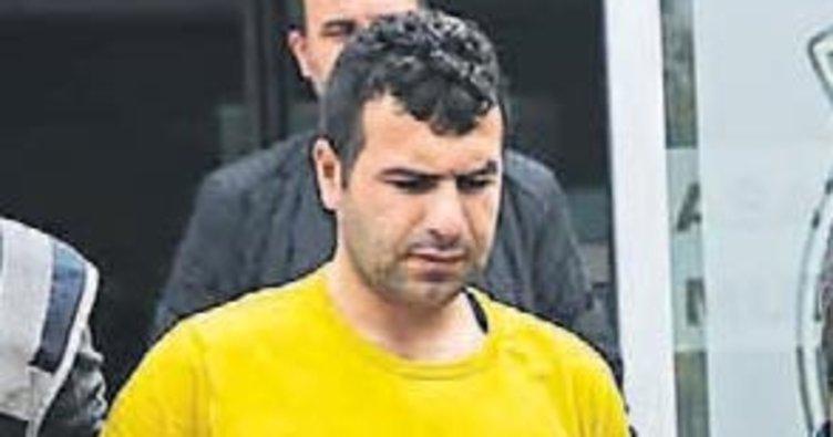 Patron katili zanlı polisten kaçamadı
