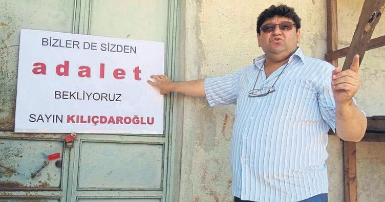 Kılıçdaroğlu biz de adalet istiyoruz