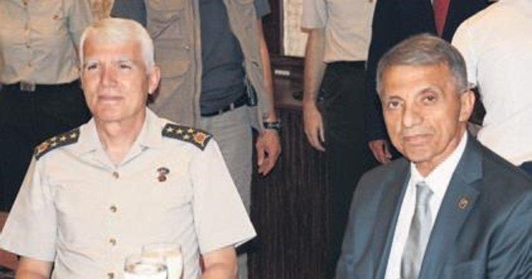 Jandarma şehit yakınları ve gazilere iftar verdi