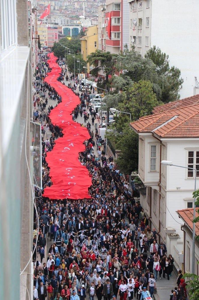 19 Mayıs Gençlik ve Spor Bayramı'ndan görüntüler