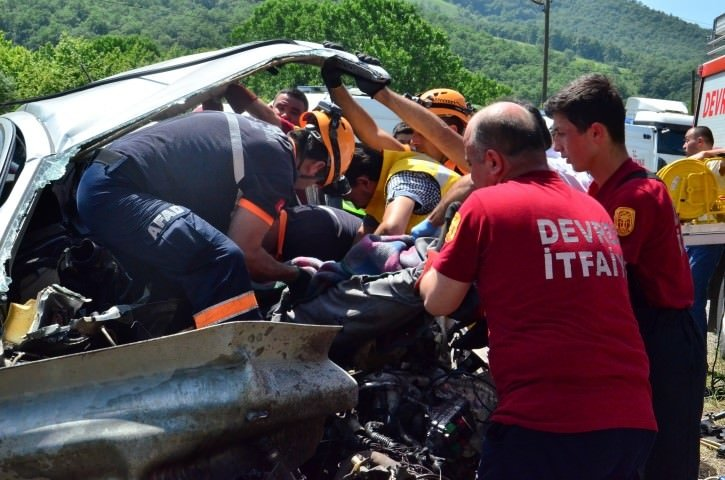 Zonguldak'ta trafik kazası: 1 ölü!