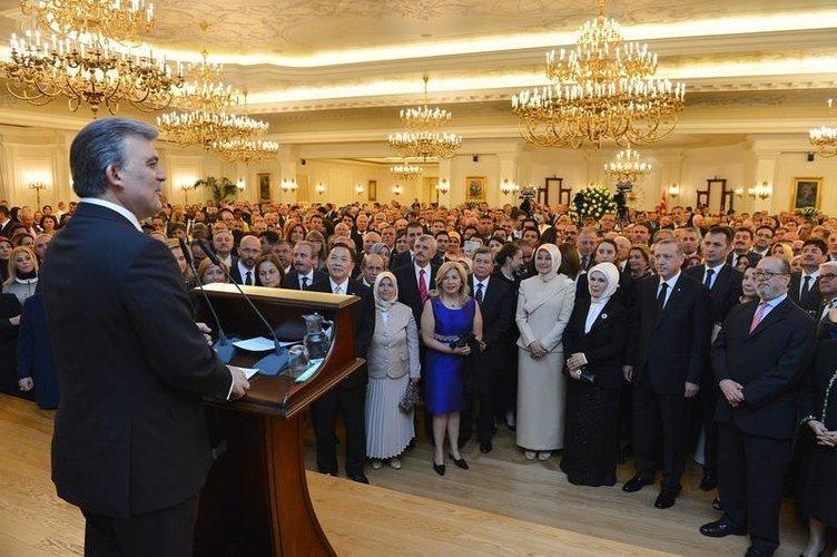 Abdullah Gül böyle veda etti