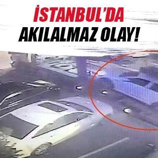 İstanbul'da akılalmaz hırsızlık olayı!