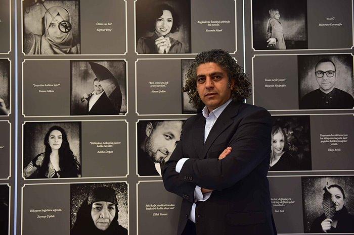 İstanbul'un Yüzleri -Hiç- Sergisi açıldı