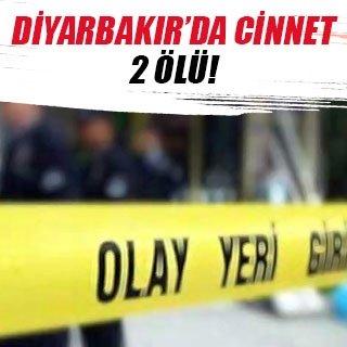 Diyarbakır'da cinnet: 2 ölü