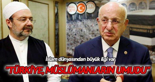 """""""Türkiye, Müslümanların umudu"""""""