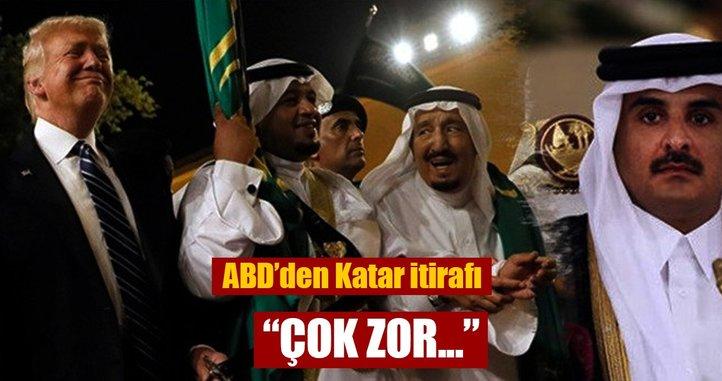 ABD: Katar'dan istenen bazı taleplerin yerine getirilmesi çok zor
