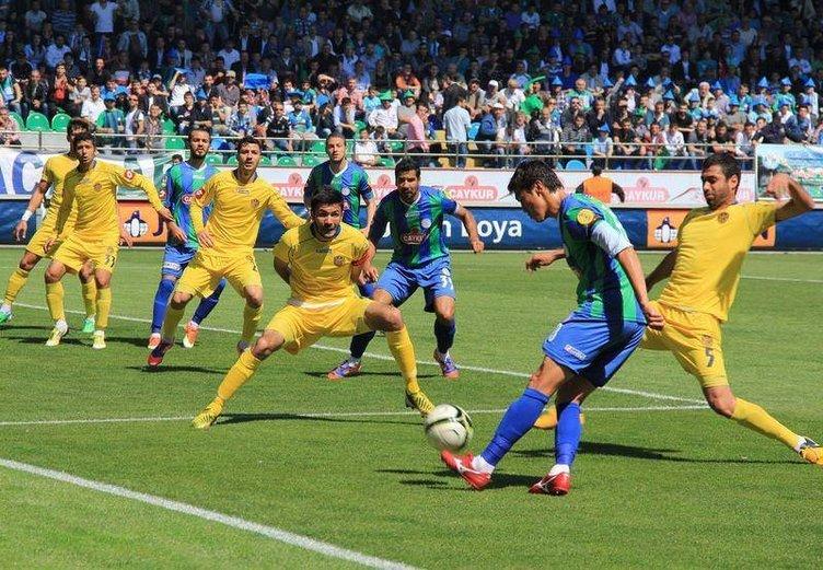 Çaykur Rizespor Spor Toto Süper Lig'de