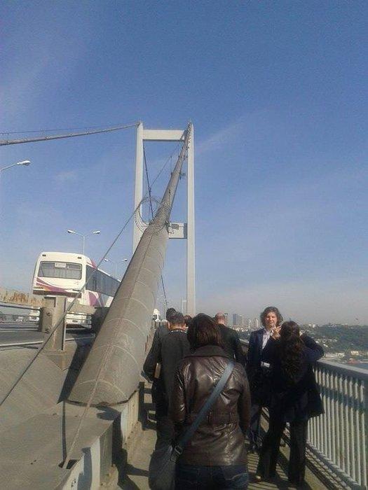 Boğaziçi Köprüsü'nde kaza
