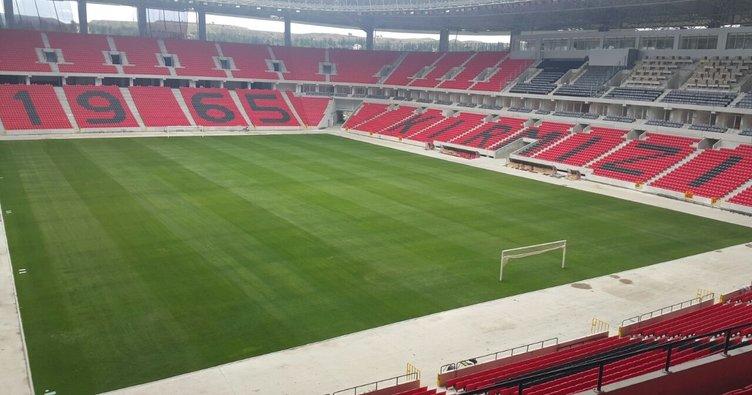Türkiye-Hırvatistan maçı Eskişehir Yeni Stadyumu'nda