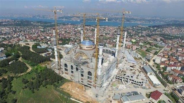 Çamlıca Camii'nde ilk teravih tarihi belli oldu