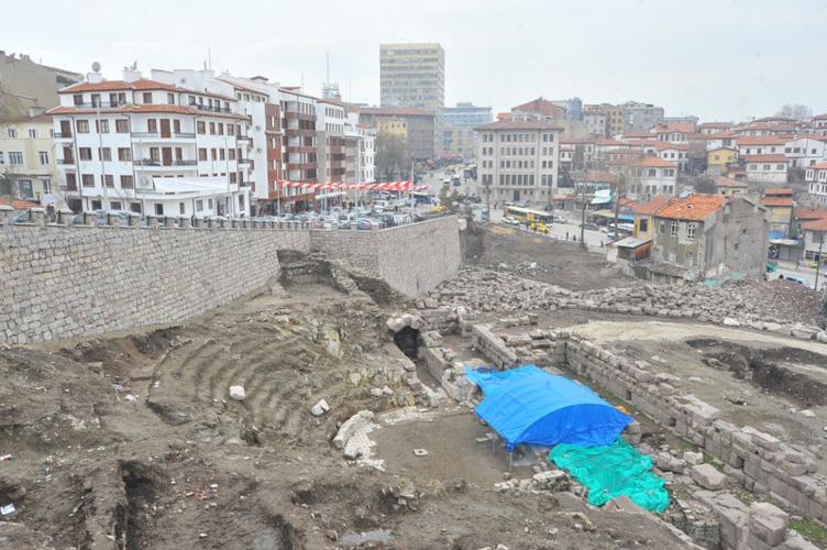 Ankara'nın tarihi gün yüzüne çıkıyor