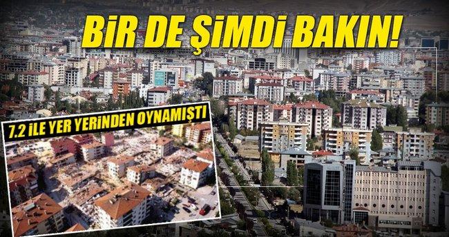 Türkiye Van'ı 5 yılda yeniden ayağa kaldırdı