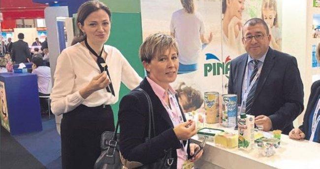 Pınar'ın ürünleri Fransa'da tanıtıldı