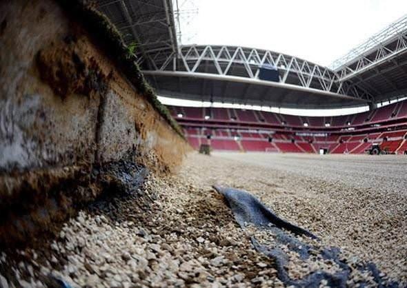 Türk Telekom Arena'dan son fotoğraflar