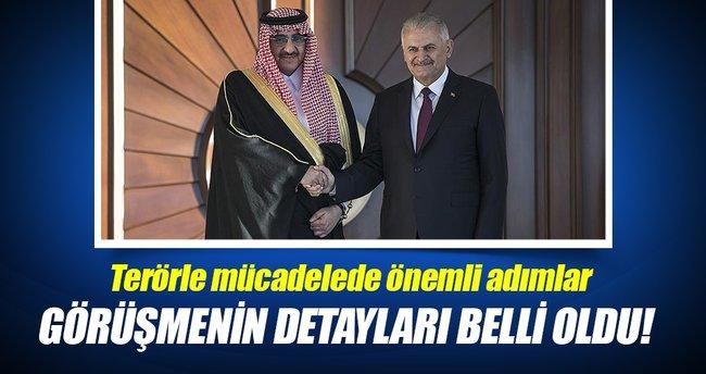 Terörle mücadele konusunda Suudi Arabistan ile işbirliği artacak!