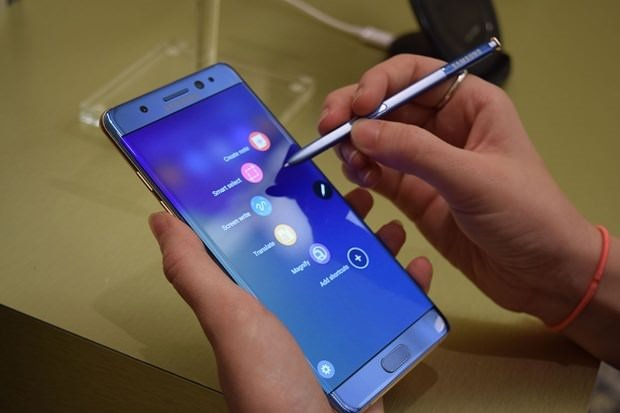 Samsung'dan Note 7 sahiplerine iyi haber