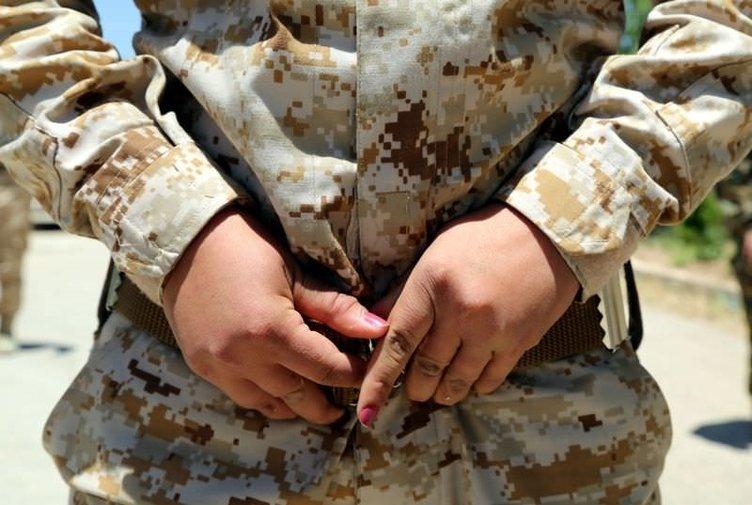 Kadın peşmergeler, savaşa hazırlanıyor