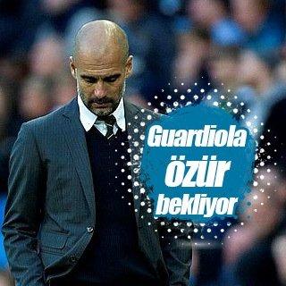 Guardiola özür bekliyor
