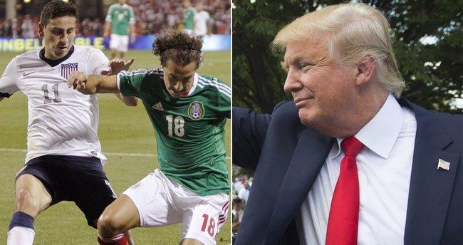 Futbolda Trump derbisi: ABD-Meksika!
