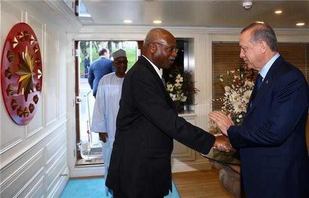 Dünya liderleri Savarona'da buluştu