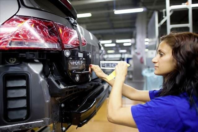 Volkswagen Golf'ün üretimi durduruldu