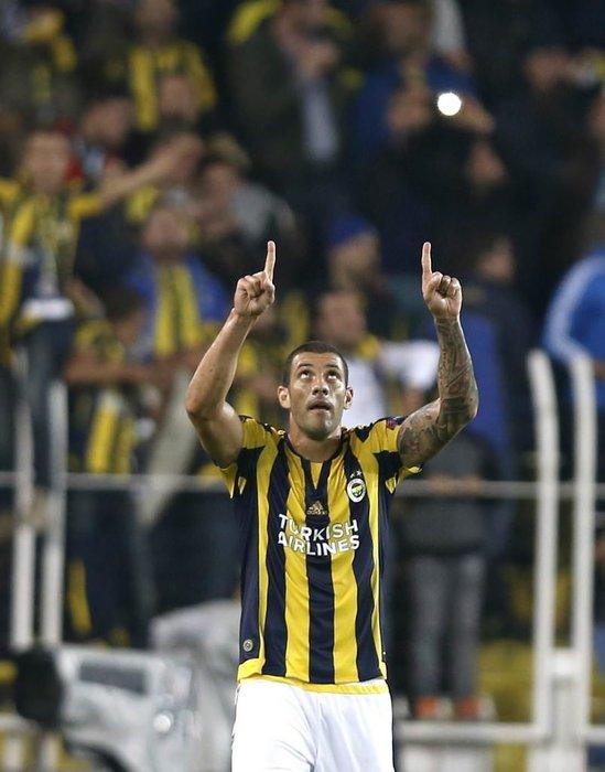 Fenerbahçe-Ajax maçından kareler