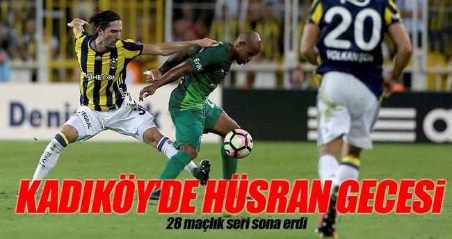 Kadıköy'de 28 maçlık seri sona erdi