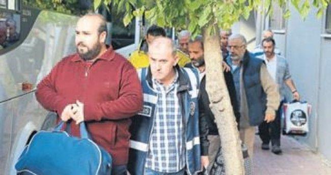 İki FETÖ operasyonunda 64 kişi cezaevine konuldu