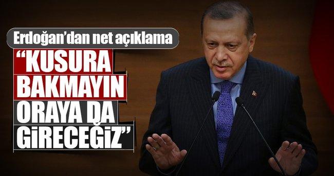 Türkiye kimseden izin almadı