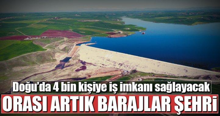 Diyarbakır artık barajlar şehri...