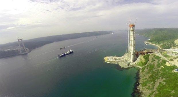 Yavuz Sultan Selim Köprüsü böyle bitti