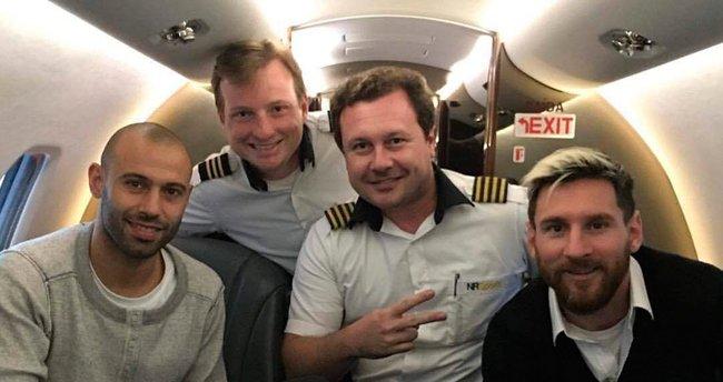 Kolombiya'da düşen uçağa Messi de binmiş!
