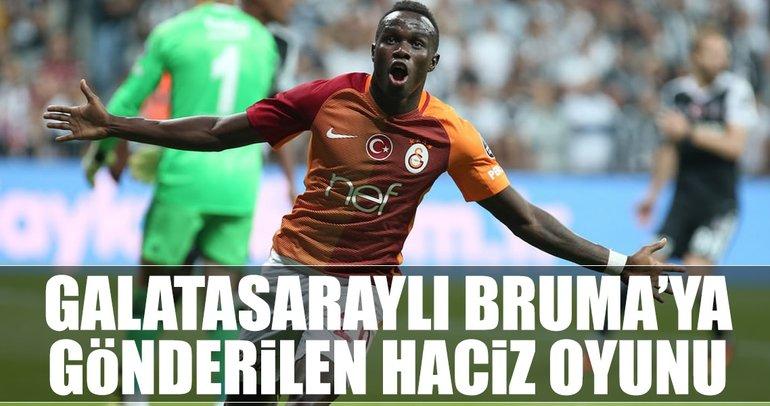 Galatasaraylı Bruma'ya haciz oyunu