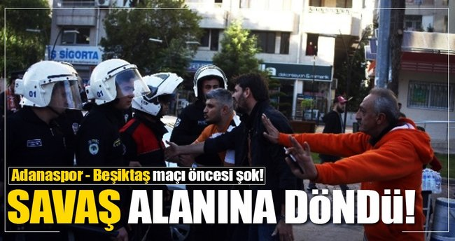 Adanaspor-Beşiktaş maçı öncesi ortalık karıştı!