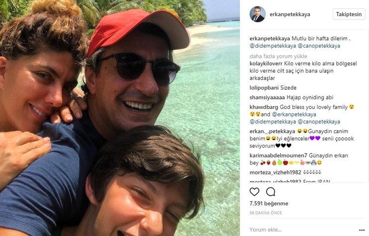Ünlü isimlerin Instagram paylaşımları (17.07.2017)