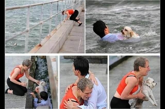 İnsanlık ölmemiş dedirten fotoğraflar