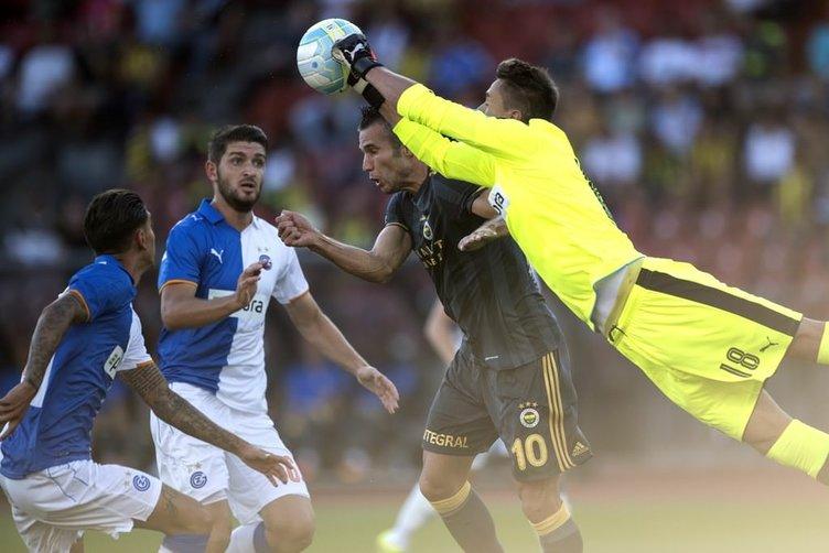 Grasshoppers-Fenerbahçe maçından kareler