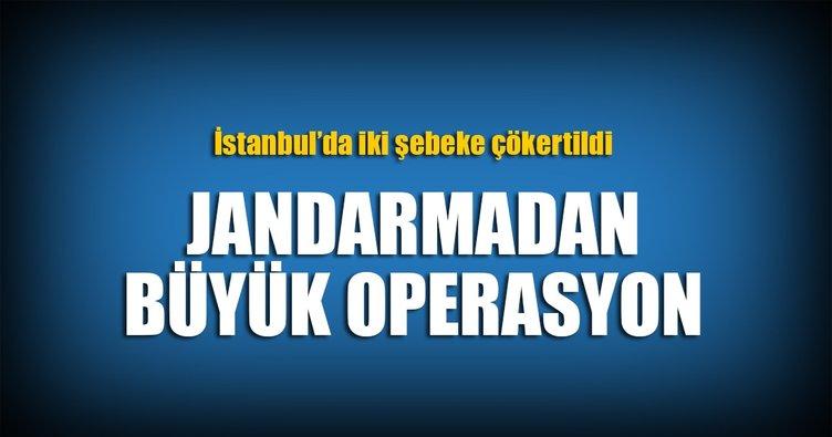 Jandarma'dan İstanbul'da dev vurgun