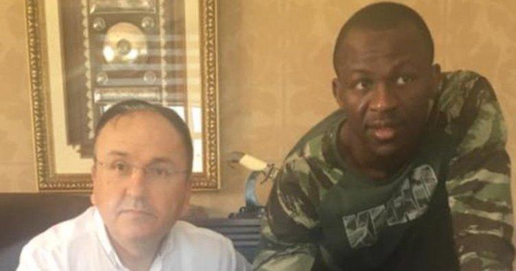 Sivasspor'un yeni forveti Arouna Kone!