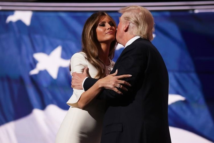 Amerika'nın yeni First Lady'si Melania Trump