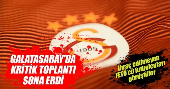 GALATASARAY'DA KRİTİK TOPLANTI SONA ERDİ