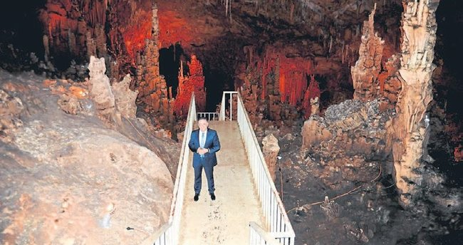 Dünya'nın 8. harikası Aynalıgöl Mağarası