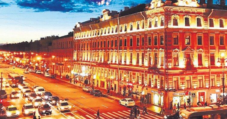Beyaz masalın adı St. Petersburg